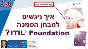 ITIL Foundation ITIL ITIL EXPERT Certification ITIL Manager