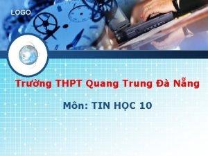 LOGO Trng THPT Quang Trung Nng Mn TIN
