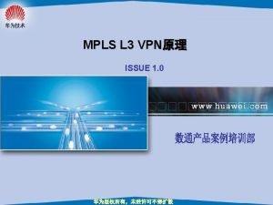 VPN VPN Virtual Private Network 6 1 site