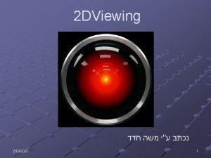 2 DViewing 1 2182021 n Viewing Wcvc Vcndc