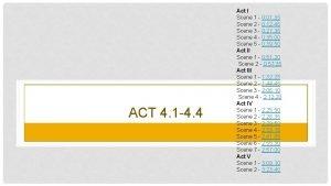 ACT 4 1 4 4 Act I Scene