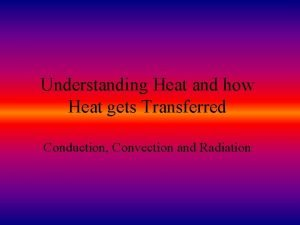 Understanding Heat and how Heat gets Transferred Conduction