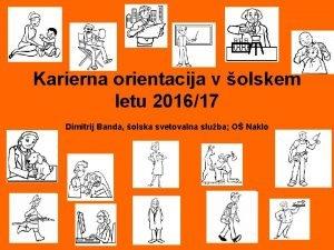Karierna orientacija v olskem letu 201617 Dimitrij Banda