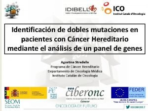 Identificacin de dobles mutaciones en pacientes con Cncer