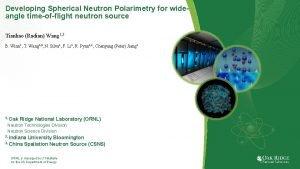 Developing Spherical Neutron Polarimetry for wideangle timeofflight neutron