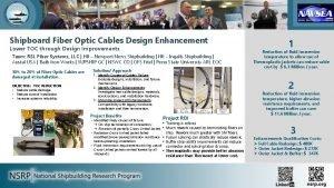 Shipboard Fiber Optic Cables Design Enhancement Lower TOC