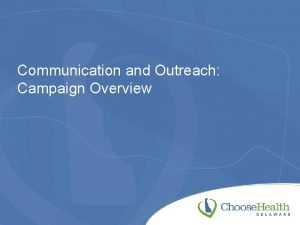 Communication and Outreach Campaign Overview Website Analytics Clicks