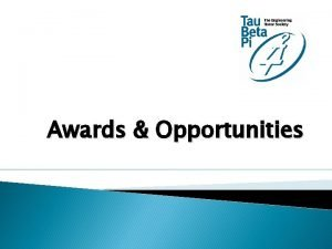 Awards Opportunities Individual Awards Fellowships Scholarships Laureate Distinguished