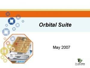 Orbital Suite May 2007 What is Orbital Suite