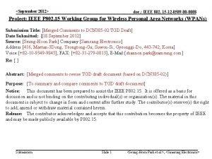 September 2012 doc IEEE 802 15 12 0509