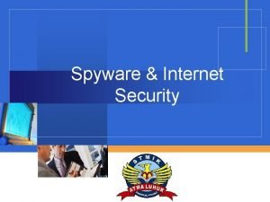 Spyware Internet Security Company LOGO Operating System Security
