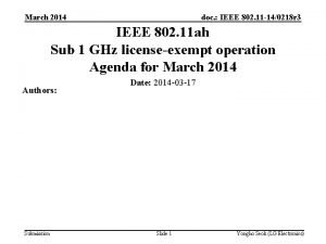March 2014 doc IEEE 802 11 140218 r