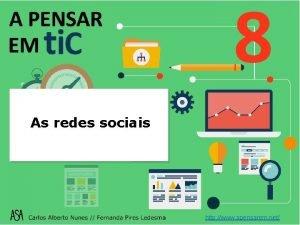 As redes sociais http www apensarem net Redes
