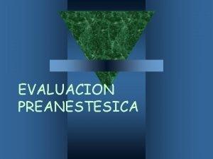 EVALUACION PREANESTESICA Blog telemedicinadetampico wordpress com Twitter Medicina