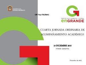 CBT No 3 TECMAC CUARTA JORNADA ORDINARIA DE