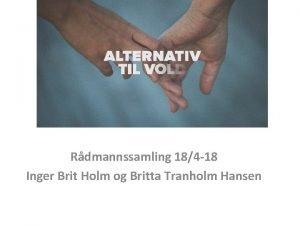 Rdmannssamling 184 18 Inger Brit Holm og Britta
