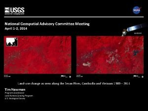 National Geospatial Advisory Committee Meeting April 1 2