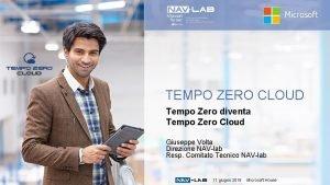 Microsoft TEMPO ZERO CLOUD Tempo Zero diventa Tempo