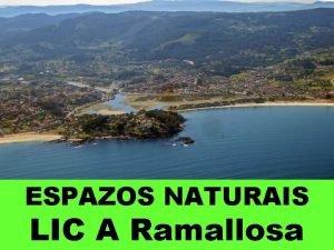 ESPAZOS NATURAIS LIC A Ramallosa Situado na desembocadura