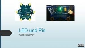 LED und Pin Projekt INGOLSTADT LED und Pin
