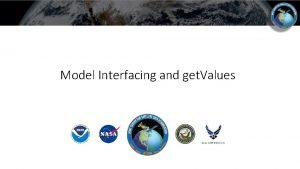 Model Interfacing and get Values Introduction OOPS provides