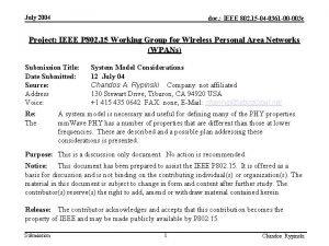 July 2004 doc IEEE 802 15 04 0361