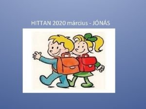 HITTAN 2020 mrcius JNS Digihitta Kedves gyerekek kszntelek