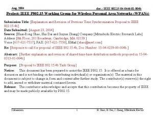Aug 2004 doc IEEE 802 15 04 0446