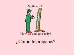 Captulo 2 A How do you get ready