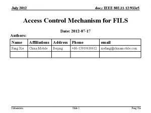 July 2012 doc IEEE 802 11 12933 r