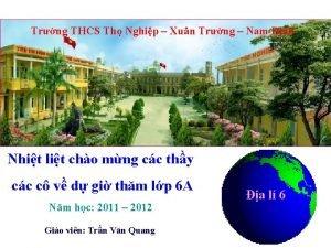Trng THCS Th Nghip Xun Trng Nam nh