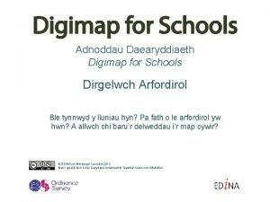 Adnoddau Daearyddiaeth Digimap for Schools Dirgelwch Arfordirol Ble