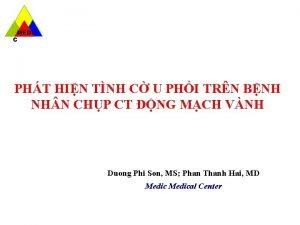 MEDI C PHT HIN TNH C U PHI