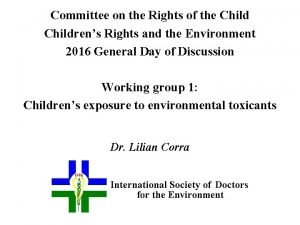 Committee on the Rights of the Childrens Rights