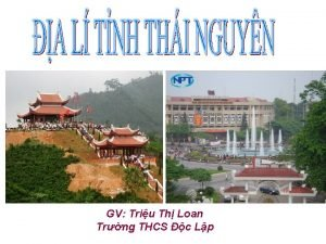 GV Triu Th Loan Trng THCS c Lp