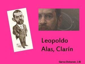 Leopoldo Alas Clarn Garoa Dobaran 2 B AURKIBIDEA