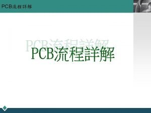 PCB LOGO PCB LOGO v 3 DES DevelopingEtchingStrip