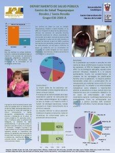 DEPARTAMENTO DE SALUD PBLICA Centro de Salud Tlaquepaque