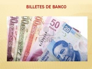 BILLETES DE BANCO PRIMEROS BILLETES DE BANCO Hasta