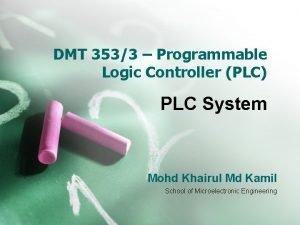 DMT 3533 Programmable Logic Controller PLC PLC System