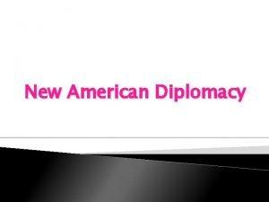 New American Diplomacy Open Door Policy 1894 War