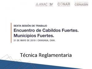 Tcnica Reglamentaria Poblacin Normas Gobierno Territorio 1999 Leyes
