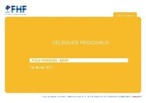 Ple Finances DELEGUES REGIONAUX PLE FINANCES BDHF 1