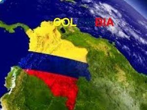 COLOMBIA COLOMBIA Y LA ECONOMIA GLOBAL INICIOS El