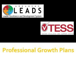 Professional Growth Plans Professional Learning Norms Engagement Respect