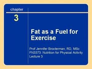 chapter 33 Fatas asaa Fuelfor Exercise Prof Jennifer
