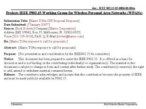 doc IEEE 802 15 05 0006 00 004