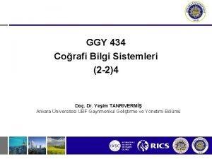 GGY 434 Corafi Bilgi Sistemleri 2 24 Do