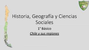 Historia Geografa y Ciencias Sociales 1 Bsico Chile