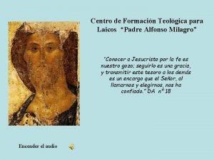 Centro de Formacin Teolgica para Laicos Padre Alfonso